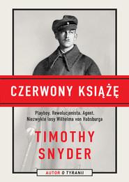 okładka Czerwony książę, Książka | Timothy Snyder