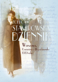 okładka Dziennik Warszawa, 6 września - 18 października 1939 roku, Książka | Stamirowska Zofia