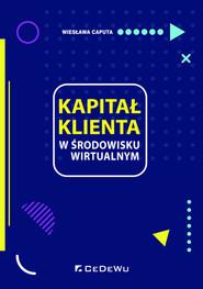okładka Kapitał klienta w środowisku wirtualnym, Książka | Caputa Wiesława