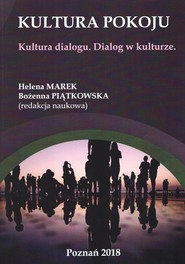 okładka Kultura pokoju Kultura dialogu Dialog w kulturze, Książka |