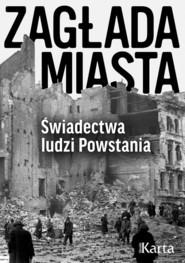 okładka Zagłada miasta Świadectwa ludzi Powstania, Książka |
