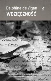 okładka Wdzięczność, Książka | Vigan Delphine