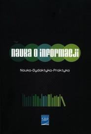 okładka Nauka o informacji, Książka |