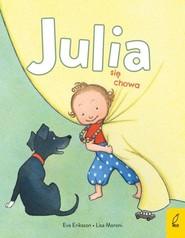okładka Julia się chowa, Książka   Moroni Lisa
