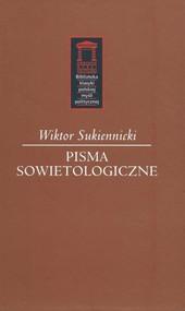 okładka Pisma sowietologiczne, Książka | Sukiennicki Wiktor