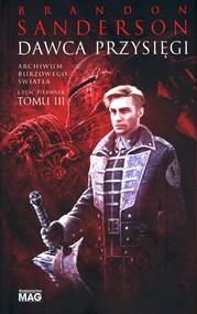 okładka Dawca przysięgi Archiwum Burzowego Światła Tom 3 Część, Książka | Brandon Sanderson
