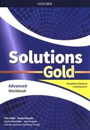 okładka Solutions Gold Advanced Workbook, Książka | Tim Falla, Paul A. Davies