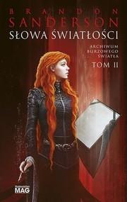okładka Słowa Światłości Archiwum Burzowego Światła Tom 2, Książka | Brandon Sanderson