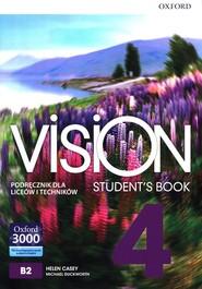 okładka Vision 4 Podręcznik Liceum technikum, Książka   Helen Casey, Michael Duckworth