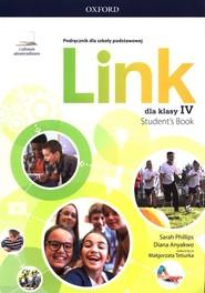 okładka Link 4 Podręcznik z cyfrowym odzwierciedleniem Szkoła podstawowa, Książka   Sarah Phillips, Diana Anyakwo
