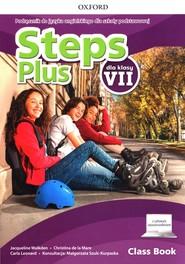 okładka Steps Plus 7 Podręcznik z cyfrowym odzwierciedleniem Szkoła podstawowa, Książka   Jacqueline Walkden, la Mare Christina de, Carla Leonard