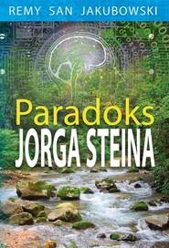 okładka Paradoks Jorga Steina, Książka | Remy San Jakubowski