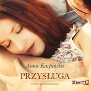 okładka Przysługa, Audiobook | Anna Karpińska