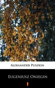 okładka Eugeniusz Oniegin, Ebook | Aleksander Puszkin
