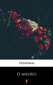 okładka O miłości, Ebook | Stendhal
