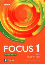 okładka Focus Second Edition 1 Student's Book + eBook Liceum technikum Poziom A2/A2+, Książka | Marta Umińska, Patricia Reilly
