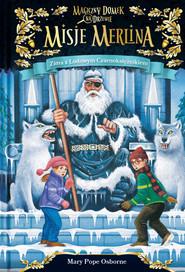 okładka Zima z Lodowym Czarnoksiężnikiem Misje Merlina 4 Magiczny domek na drzewie, Książka   Mary Pope Osborne