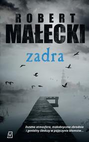 okładka Zadra Wielkie Litery, Książka   Robert Małecki