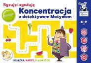 okładka Koncentracja z detektywem Motywem Rysuję i zgaduję, Książka | Biela Agnieszka