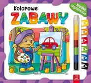 okładka Kolorowe zabawy Kredka segmentowa, Książka |