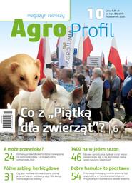 okładka Agro Profil 10/2020, Ebook | praca zbiorowa