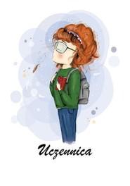 okładka Uczennica, Książka | Małgorzata Szafrańska