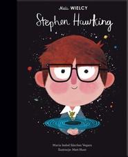 okładka Mali WIELCY Stephen Hawking, Książka   Maria Isabel Sanchez-Vegara