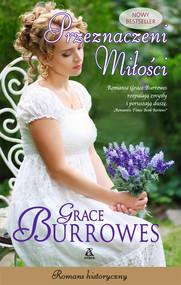 okładka Przeznaczeni miłości Wielkie Litery, Książka   Grace Burrowes
