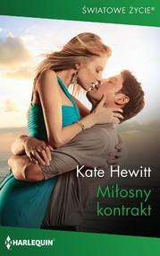 okładka Miłosny kontrakt, Ebook | Kate Hewitt