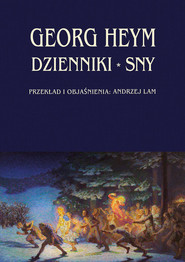 okładka Dzienniki Sny, Książka | Heym Georg