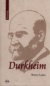 okładka Durkheim Życie i dzieło, Książka | Lukes Steven