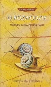 okładka O rozwodzie, Książka | Stephane Leroy, Patricia Lucas