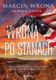 okładka Wroną po Stanach, Książka | Marcin Wrona