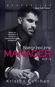 okładka Niegrzeczny manager, Książka | Kristen  Callihan