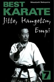 okładka Best Karate 7 Jitte, Hangetsu, Empi, Książka   Nakayama Masatoshi