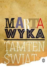 okładka Tamten świat, Książka | Marta Wyka