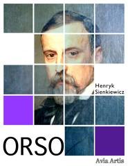 okładka Orso, Ebook | Henryk Sienkiewicz