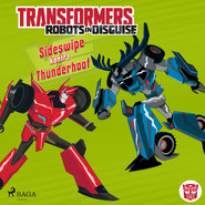 okładka Transformers – Robots in Disguise – Sideswipe kontra Thunderhoof, Audiobook | John Sazaklis