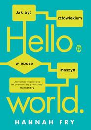 okładka Hello world, Ebook   Hannah Fry