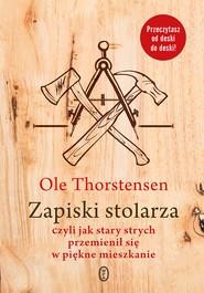 okładka Zapiski stolarza, Ebook | Ole Thorstensen