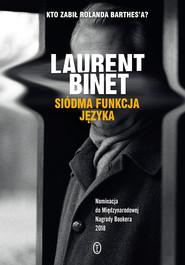 okładka Siódma funkcja języka, Ebook | Laurent Binet