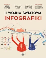 okładka II wojna światowa Infografiki, Książka | Jean  Lopez, Nicolas Aubin, Vincent Bernard