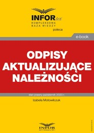okładka Odpisy aktualizujące należności, Ebook | Izabela Motowilczuk