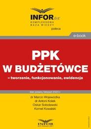 okładka PPK w budżetówce – tworzenie, funkcjonowanie, ewidencja, Ebook | Marcin Wojewódka, Antoni Kolek, Oskar Sobolewski, Kornel Kowalski
