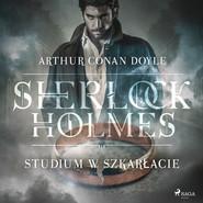 okładka Studium w szkarłacie, Audiobook   Arthur Conan Doyle