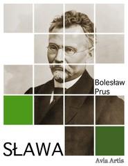 okładka Sława, Ebook | Bolesław Prus