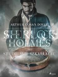 okładka Studium w szkarłacie, Ebook   Arthur Conan Doyle