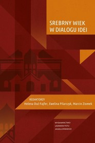 okładka Srebrny Wiek w dialogu idei, Książka  