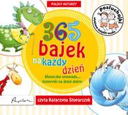 okładka Posłuchajki. 365 bajek na każdy dzień. Słoneczko opowiada... historyjki na dzień dobry, Audiobook | autor zbiorowy