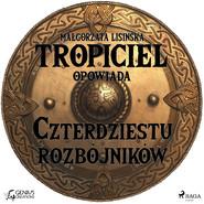 okładka Tropiciel opowiada: Czterdziestu rozbójników, Audiobook | Małgorzata Lisińska